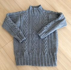Ravelry: Project Gallery for Aran Sweater/ アランセーター pattern by Chie Kose (小瀬 千枝) Chie, Aran Sweaters, Net Bag, Yarn Needle, Master Class, Ravelry, Pullover, Wool, Knitting