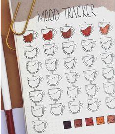 Bullet Journal Mood Tracker Ideas, Bullet Journal Notebook, Bullet Journal Spread, Bullet Journal Ideas Pages, Bullet Journal Inspiration, Journal Pages, Tracker Mood, Bullet Journal Netflix, Bullet Journal Decoration