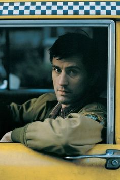 "Robert De Niro in ""Taxi Driver"" (1976). COUNTRY: United States. DIRECTOR: Martin Scorsese."