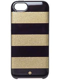 Kate Spade New York Glitter Jubilee Stripe iPhone Case | Piperlime