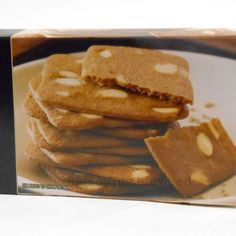 Private Selection Belgian Almond Thins Coffee/Tea butter cookies biscuit snack #PrivateSelections #BigBoyTumbleweed