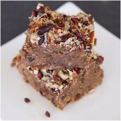 Superfood Protein Cinnamon Spice Breakfast Bars   Betty Rocker   Bloglovin'