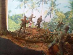 Marines! USMC vs. SNLF. Tarawa Test Shot 02