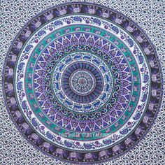 Indian Mandala Tapestry Hippie Wall Hanging Dorm Tapestries Gypsy Queen Bedspread Wall Decorative Art from Marusthali on Etsy. Tapestry Online, Dorm Tapestry, Blue Tapestry, Indian Tapestry, Mandala Tapestry, Tapestry Wall Hanging, Hippie Tapestries, Colorful Tapestry, Hanging Fabric