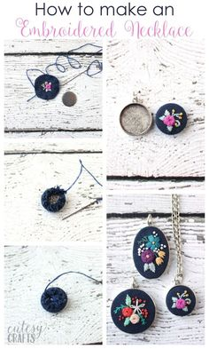 Wonderful Ribbon Embroidery Flowers by Hand Ideas. Enchanting Ribbon Embroidery Flowers by Hand Ideas. Learn Embroidery, Hand Embroidery Stitches, Embroidery Jewelry, Hand Embroidery Designs, Embroidery Techniques, Ribbon Embroidery, Embroidery Art, Cross Stitch Embroidery, Wedding Embroidery
