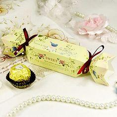 """""""Dolce+primavera""""+candy+wrapper+favore+box+(set+di+12)+–+EUR+€+2.99"""