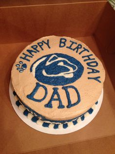 Penn state cake Janny H. Cakes www.facebook.com/jannyh.cakes