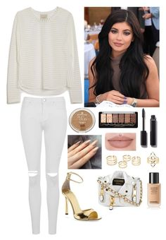 """Stylish White"" by oken-demir on Polyvore featuring Mason's, Tamara Mellon, Moschino, Chanel, Topshop and Charlotte Russe"