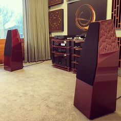 """63 Likes, 6 Comments - HiFi Lounge (@hifi_lounge) on Instagram: """"So pleased to have the @wilson.audio Sabrina's back in our @naimaudio dedicated demo room, such a…"""""""