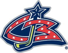 Columbus Blue Jackets Jersey Logo - A stylised red CB with a yellow hockey stick inserted as a J. Worn on Columbus Blue Jackets white uniform beginning in their inaugural season until Hockey Logos, Nhl Logos, Sports Team Logos, Hockey Teams, Ice Hockey, Hockey Rules, Hockey Stuff, Sports Teams, Hockey Players