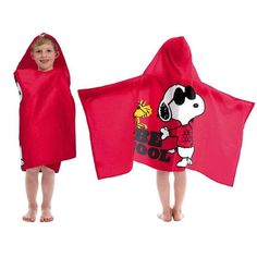 Peanuts SNOOPY Be Cool Hooded Towel Wrap - Personalized Kids Hooded Towels, After Bath, Joe Cool, Towel Wrap, Snoopy And Woodstock, Sewing Studio, Peanuts Snoopy, Font Styles, Bath Time