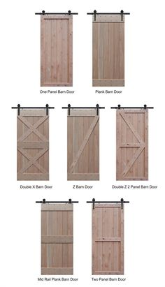 Tampa retail store for sliding barn door hardware and barn door track. Barn doors are interior doors that slide along a wall mounted track and have no hinges Porta Diy, Barn Door Track, Farm Door, Building A Barn Door, Barn Door For Windows, Making Barn Doors, Barnyard Door, Barn Door In House, Wooden Windows