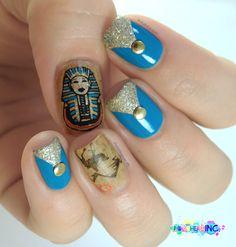 CHAKALACQUER egypt #nail #nails #nailart