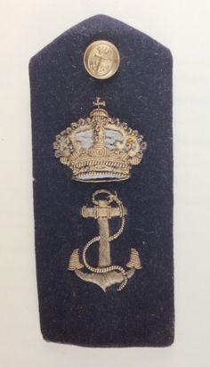 Pala de alumno de 1º de ENM de Ingeniero Naval. Época de Alfonso XIII