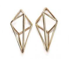 Cage Stud Earrings