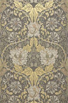 Papier peint baroque papier peint direct vente decoration murale et tapiss - Papier peint gris baroque ...