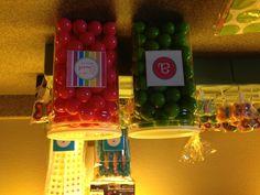 Candy arrangement for birthday