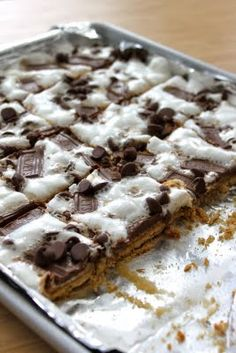 S'mores cracker candy