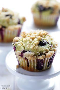 Avocado Blueberry Muffins Recipe | gimmesomeoven.com   REALLY GOOD!