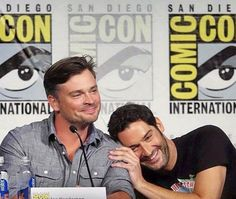 Tom Welling joins the cast of Lucifer S3 - San Diego Comic-Con 2017 | LUCIFER S3