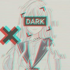 By:_Ouka_ Sad Anime Girl, Anime Art Girl, Aesthetic Drawing, Aesthetic Anime, Gothic Anime, Butler Anime, Cute Anime Character, Cute Anime Pics, Glitch Art