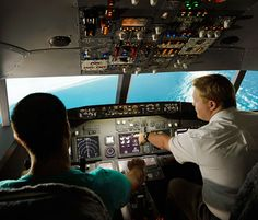 A flight simulator out in Fyshwick! Mr HerCanberra reviews it today and there's a special deal for upcoming father's day too!