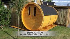 SISU-SAUNAFÄSSER mehr als 400 Variationsmöglichkeiten Indoor Outdoor, Outdoor Sauna, Outdoor Gear, Diy Sauna, Sauna Kits, Tent, Home Decor, Wood Furnace, Store