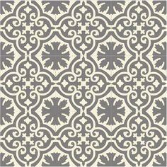 Buckland Dim Grey Recro Encaustic Tile