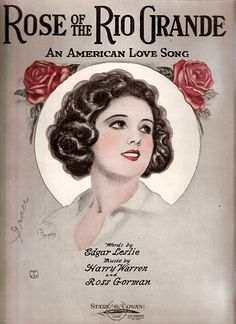 vintage sheet music illustrations (from autumnsensation's photostream on flickr