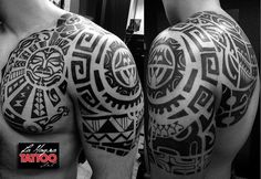 Check which tattoo suits you best. Forarm Tattoos, New Tattoos, Sleeve Tattoos, Samoan Tattoo, I Tattoo, Tattoo Maori, Tribal Tattoos For Men, Tattoos For Guys, Tattoo Gallery For Men