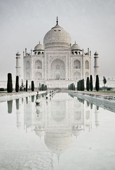 Taj Mahal , Agra of 7 wonders of the World Places Around The World, Oh The Places You'll Go, Travel Around The World, Places To Travel, Travel Destinations, Places To Visit, Around The Worlds, Taj Mahal, Wonderful Places