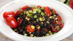 Black Bean and Rice Salad with Lundberg Black Rice