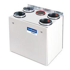 1.Model Domekt-R-400 -Najoblúbenejšia vzduchotechnická jednotka s rekuperáciou tepla -  Model Domekt  s automatický systémom riadenia – C6.1,   Tepelná účinnosť 87 %  Hladina akustického výkonu jednotky 40 dBA  Maximálny prietok vzduchu 282 m³/h Bathroom, Washroom, Full Bath, Bath, Bathrooms
