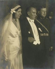 Atatürk'ün Nişan, Sünnet ve Düğünlerde Çekilen 19 Fotoğrafı | MustafaKemâlim