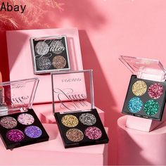 Abay New Women 4-color Eye Shadow Disc Sequins Eyeshadow Girl Five-pointed Star Fragments Eye Shadow Make Up Set Stage Makeup Price: 9.95 & FREE Shipping #fashion|#health|#beauty|#fitness Makeup Prices, Five Points, Five Pointed Star, Stage Set, New Woman, Eye Shadow, Sequins, Make Up, Free Shipping