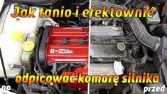 Jak tanio i efektownie odpicować komorę silnika ?