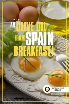 Breakfast is the perfect time to achieve with Olive Oils from Spain. Cook your eggs in EVOO then cover the pan 🍳 with a lid for a few minutes so that the tops of your eggs come out perfectly cooked with a runny inside! Olive Oils from Spain, Perfect Eggs, Olive Oils, Egg Recipes, Cantaloupe, Breakfast Recipes, Spain, Fruit, Cooking, Cover