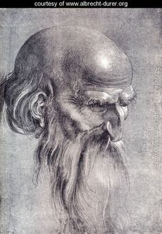 Albrecht Dürer (German, Head of an Apostle Looking Downward 1508 brush drawing with white highlights on a dark background x cm x in) Albertina National Museum of Art, Vienna, Austria Brush Drawing, Drawing Artist, Painting & Drawing, Pencil Drawings, Art Drawings, Charcoal Drawings, Contour Drawings, Figure Drawings, Pencil Art