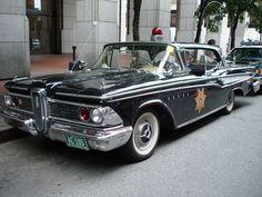 '59 Edsel cop car