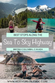 Mar 2020 - The Sea to Sky Highway is one of Canada's most scenic drives. Check out the best places to stop along the Sea to Sky Highway on a road trip! Sea to Sky Highway Cool Places To Visit, Places To Travel, Vancouver Travel, Vancouver Island, Las Vegas, Sea To Sky Highway, British Columbia, Columbia Road, Columbia Travel