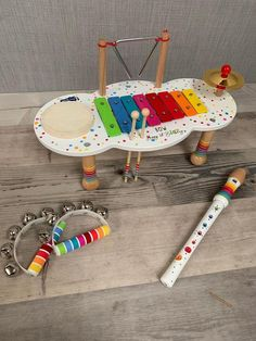 Personalised music table for children - wooden toy - gift for kids - children's toy - Christmas gift Top 5 Christmas Gifts, Inexpensive Christmas Gifts, Toddler Girl Gifts, Toddler Girls, Gifts For Wine Lovers, Inspirational Gifts, Gifts For Boys, Educational Toys, Wooden Toys