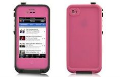 Dirt Water Snow Shock Proof Case with All-round Protection for iPhone 4/4S-Pink