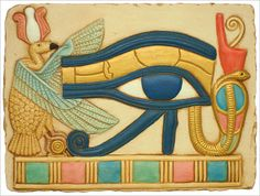 Eye of Horus Relief, Egyptian reliefs, Eye of Horus, egyptian art ...