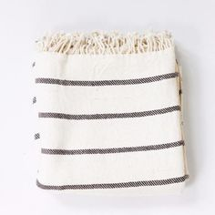 Home décor and clothing accessories from Tikau and other beautiful and ethical brands. Decorative Accessories, Home Accessories, Striped Towels, Ethical Brands, Cotton Towels, Organic Cotton, Hand Weaving, Colours, Black And White