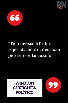 Winston Churchill, Entrepreneurship, Thoughts