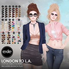 Exile - London To L.A.  Coming soon for the Arcade!