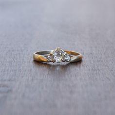 Hannah Blount Old Mine Cut Diamond Ring Study #12 – Meeka Fine Jewelry