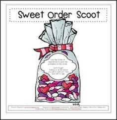"""FREE MATH LESSON - """"Sweet Order Scoot!"""" - Go to The Best of Teacher Entrepreneurs for this and hundreds of free lessons.  3rd Grade  http://www.thebestofteacherentrepreneurs.net/2017/01/free-math-lesson-sweet-order-scoot.html"""
