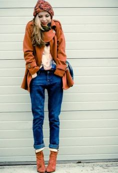 (4) 20 amazing street style winter combinations for your next going out - www.fashioncorner.net