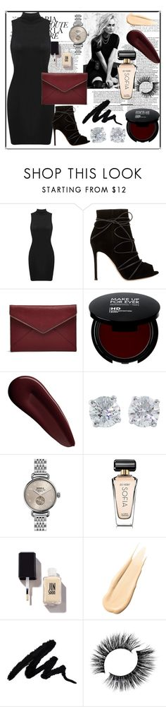 """""""business dinner"""" by yixingunicorn ❤ liked on Polyvore featuring Marc Jacobs, Gianvito Rossi, Rebecca Minkoff, Surratt, Tiffany & Co., Shinola, Avon and Hourglass Cosmetics"""